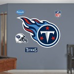 Fathead Tennessee Titans Logo and Team Decals 5-Pack