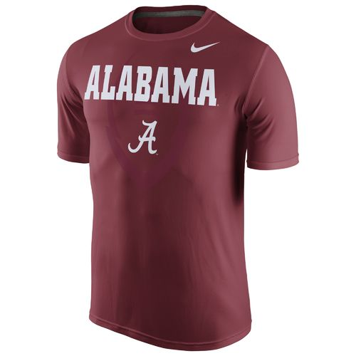 Nike Men's University of Alabama Legend Football Icon T-shirt