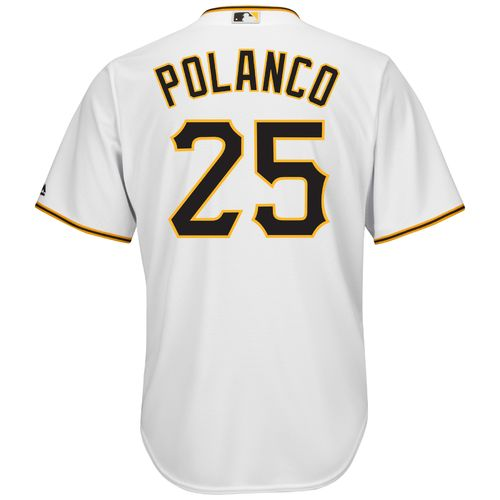 Majestic Men's Pittsburgh Pirates Gregory Polanco #25 Cool