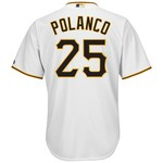 Majestic Men's Pittsburgh Pirates Gregory Polanco #25 Cool Base® Jersey - view number 1