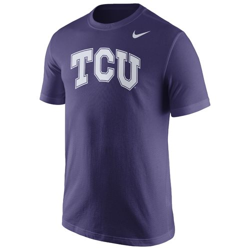 Nike™ Men's Texas Christian University Wordmark T-shirt