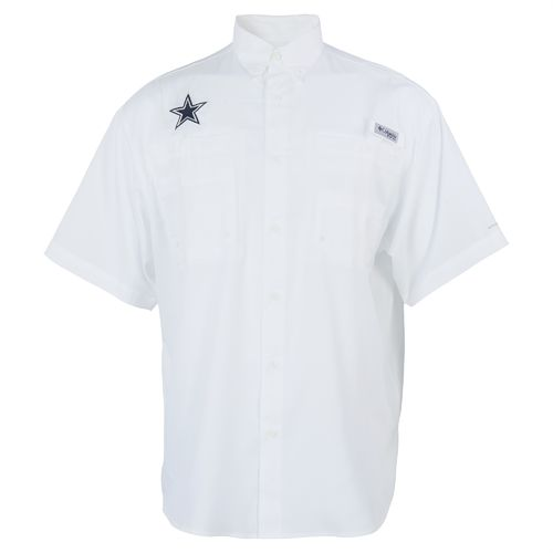 Columbia Sportswear Men's Dallas Cowboys PFG Tamiami Fishing Shirt