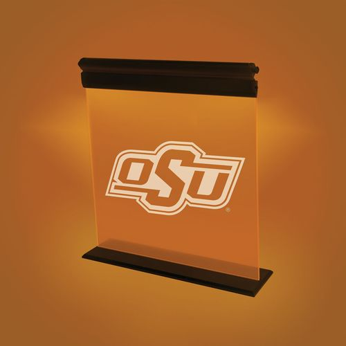 AES Optics Oklahoma State University Acrylic LED Light