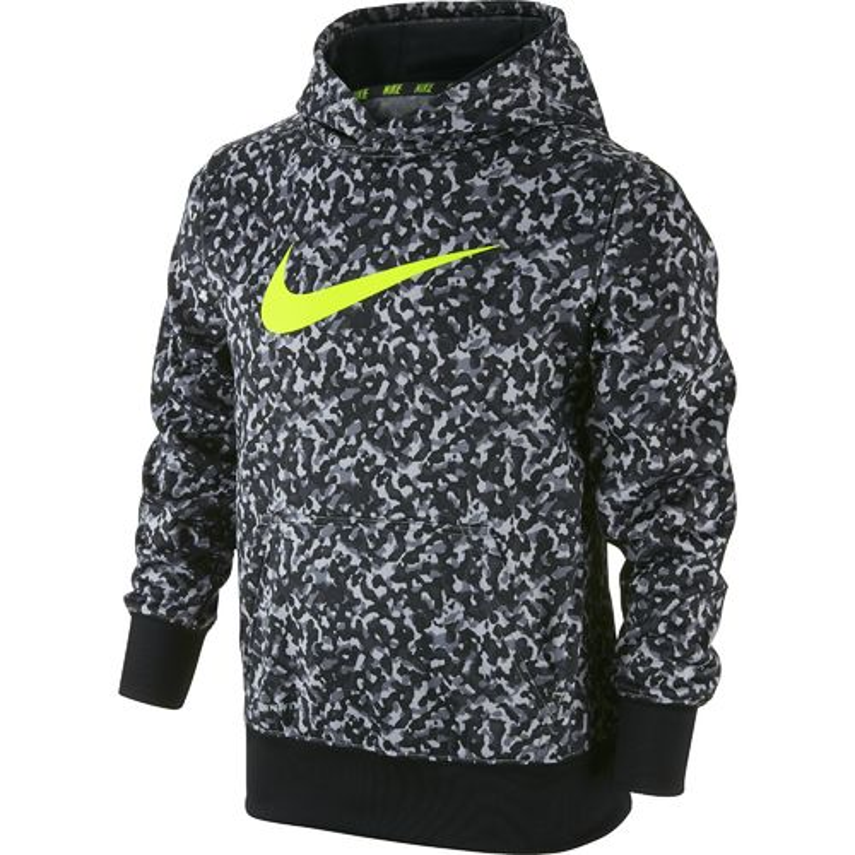 Nike Boys' KO 3.0 Allover Print Pullover Training