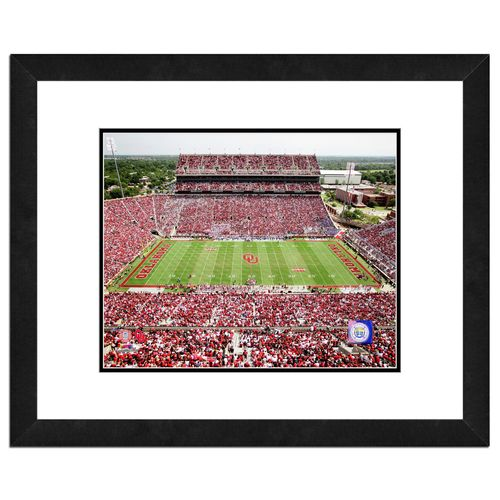 "Photo File University of Oklahoma Gaylord Family Oklahoma Memorial Stadium 8"" x 10"" Photo"