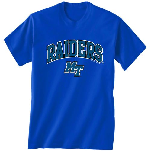 New World Graphics Men's Middle Tennessee State University Arch Mascot T-shirt