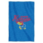The Northwest Company University of Kansas Sweatshirt Throw