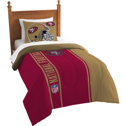 The Northwest Company San Francisco 49ers Twin Comforter and Sham Set