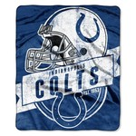 The Northwest Company Indianapolis Colts Grandstand Raschel Throw
