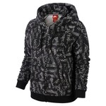Nike Women's Rally Full Zip Allover Print Hoodie