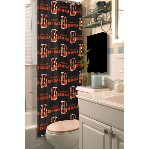 The Northwest Company Cincinnati Bengals Shower Curtain