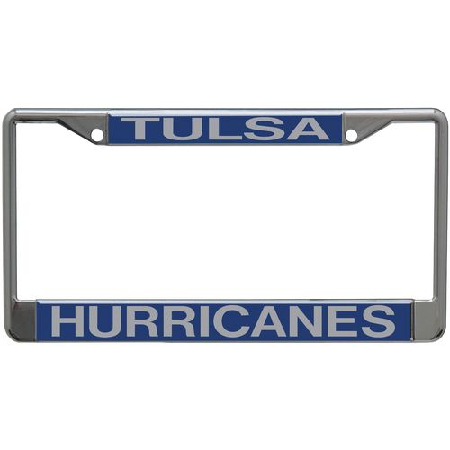 Stockdale University of Tulsa Mirror License Plate Frame