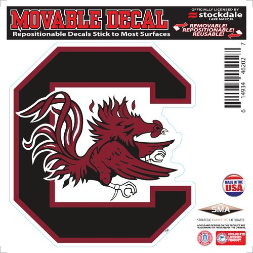 Stockdale University of South Carolina 6' x 6' Vinyl Die-Cut Decal