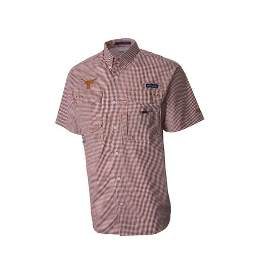 Columbia Sportswear Men's NCAA Team Super Bonehead™ Short Sleeve Fishing Shirt