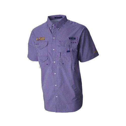 Columbia Men's Louisiana State University Collegiate Super Bonehead™ Shirt