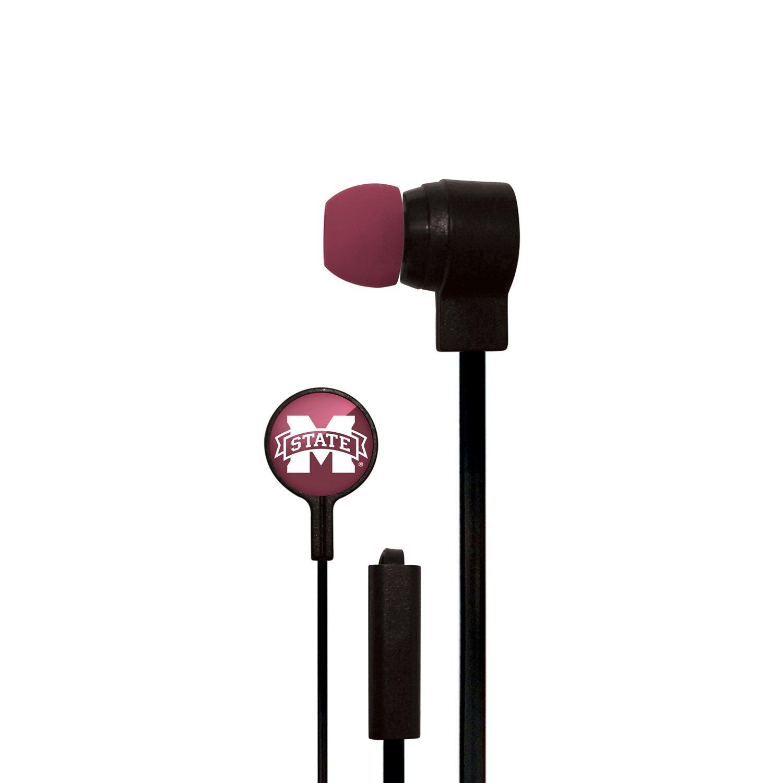 Mizco Mississippi State University Big Logo Earbuds