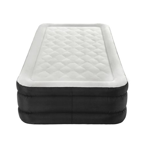 Air Comfort Deep Sleep Twin Raised Air Mattress with Built In Pump