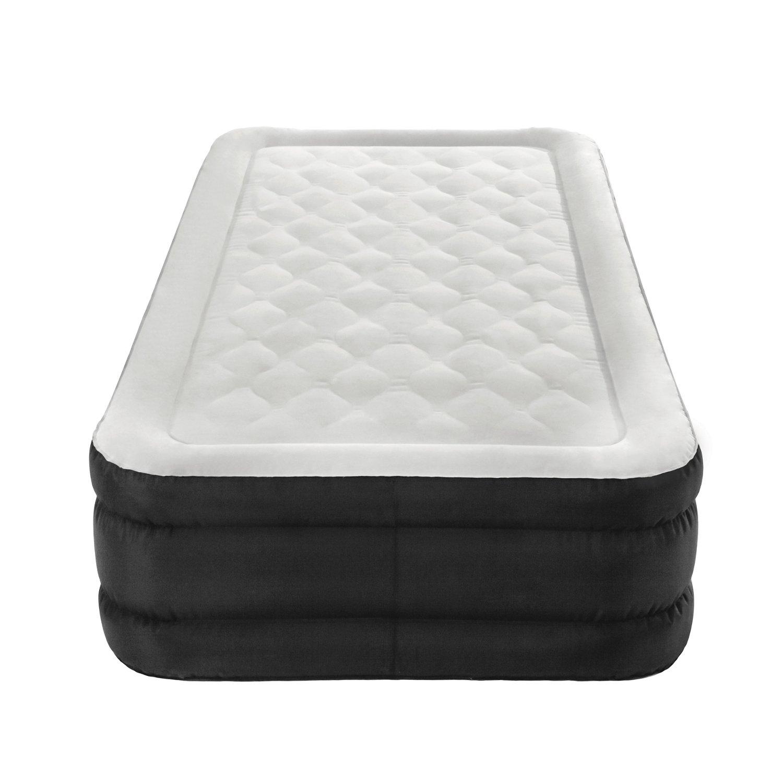 air comfort deep sleep twinsize raised air mattress
