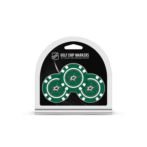 Team Golf Dallas Stars Poker Chip and Golf Ball Marker Set