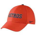 Nike Adults' Houston Astros Classic Dri-FIT Swoosh Flex Cap