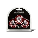 Team Golf University of South Carolina Poker Chip and Golf Ball Marker Set