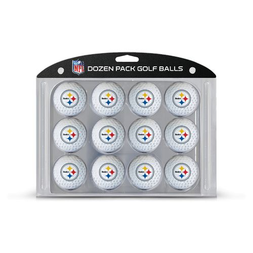 Team Golf Pittsburgh Steelers Golf Balls 12-Pack