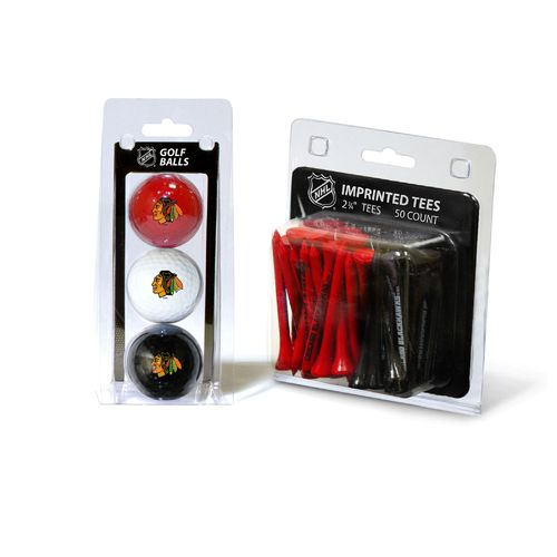 Team Golf Chicago Blackhawks Golf Ball and Golf Tee Set - view number 1