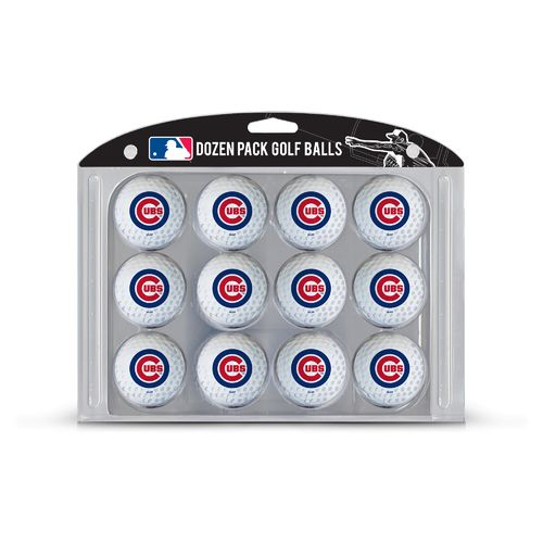 Team Golf Chicago Cubs Golf Balls 12-Pack