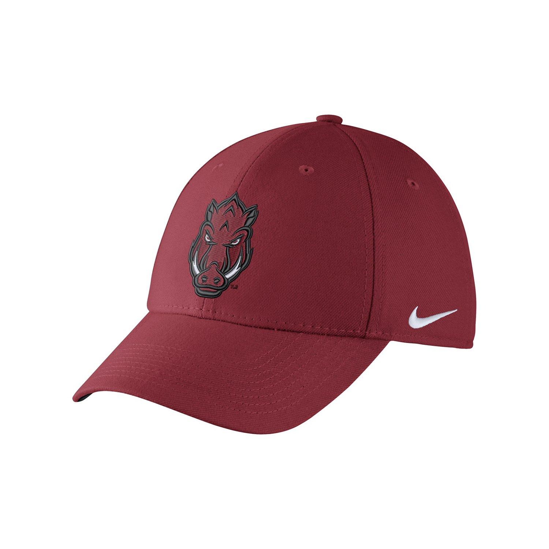 Nike™ Adults' University of Arkansas Swoosh Flex Cap
