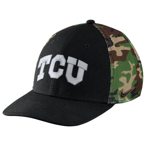Nike™ Men's Texas Christian University Camo Hook Cap