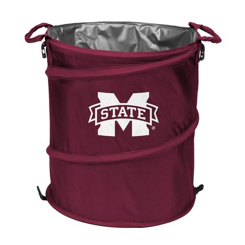 Logo™ Mississippi State University Collapsible 3-in-1 Cooler/Hamper/Wastebasket - view number 1