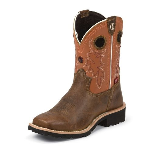 Tony Lama Kids' Comanche Buffalo 3R Western Boots - view number 1