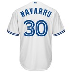 Majestic Men's Toronto Blue Jays Dioner Navarro #30 Cool Base® Jersey