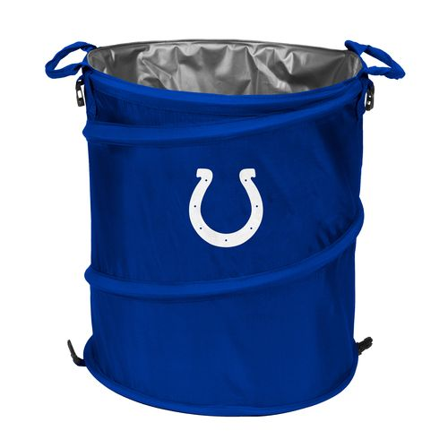 Logo Indianapolis Colts Collapsible 3-in-1 Cooler/Hamper/Wastebasket