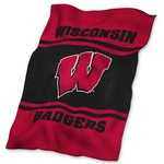 Logo University of Wisconsin Ultrasoft Blanket