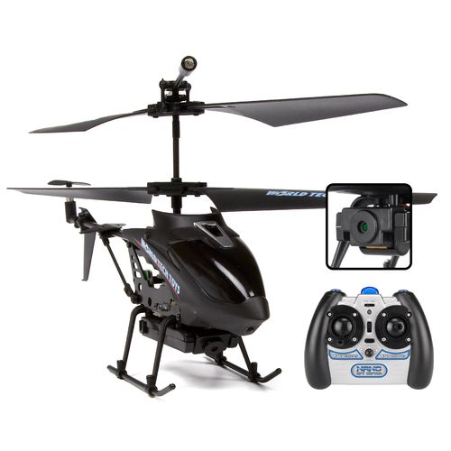 World Tech Toys Nano Spy Copter Camera 3.5-Channel IR RC Helicopter