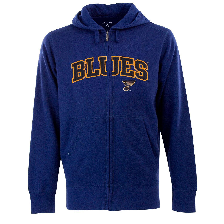 Antigua Men's St. Louis Blues Signature Full Zip