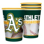 Boelter Brands Oakland Athletics 20 oz. Souvenir Cups 8-Pack - view number 1