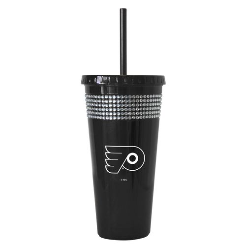 Boelter Brands Philadelphia Flyers 22 oz. Bling Straw Tumblers 2-Pack