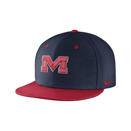 Nike™ Men's University of Mississippi True Vapor Fitted Cap