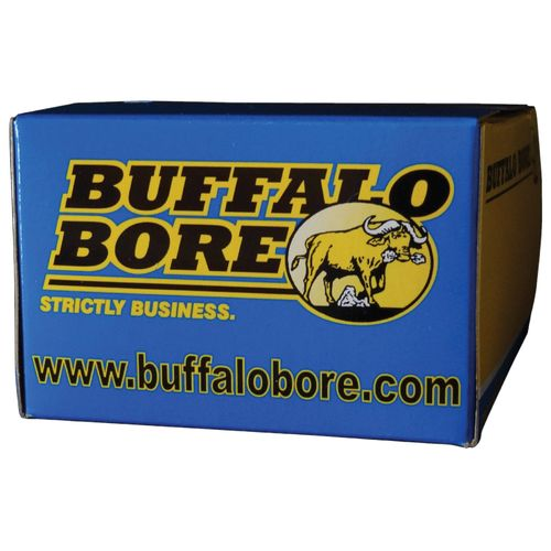 Buffalo Bore .357 Magnum 180-Grain Hard-Cast Flat-Nose Centerfire Handgun Ammunition