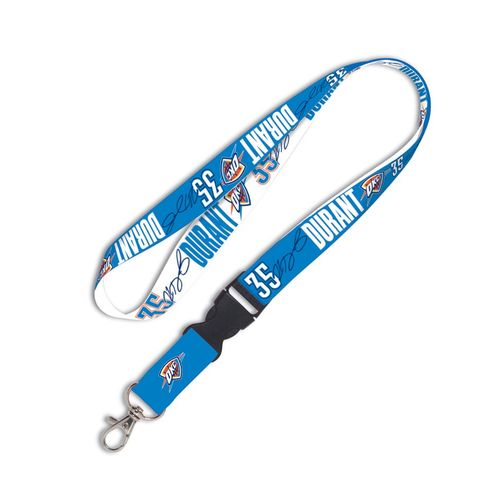 WinCraft Oklahoma City Thunder Kevin Durant Buckle Lanyard