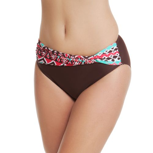 Sweet Escape Women's Ethnic Groove High Waist Swim