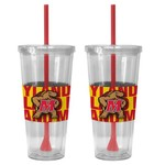 Boelter Brands University of Maryland Bold Neo Sleeve 22 oz. Straw Tumblers 2-Pack - view number 1