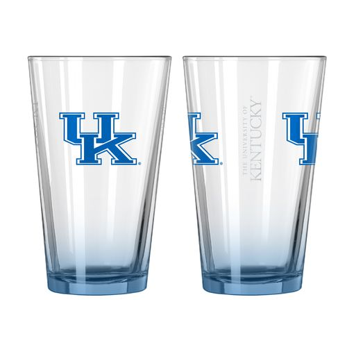 Boelter Brands University of Kentucky Elite 16 oz. Pint Glasses 2-Pack