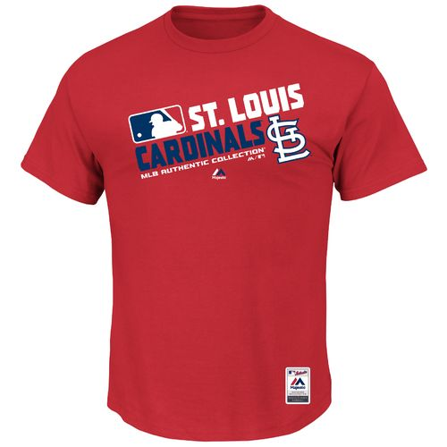 Majestic Men's St. Louis Cardinals On Field Team Choice T-shirt