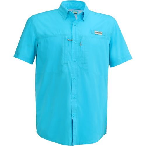 Magellan outdoors men 39 s falcon bay short sleeve fishing for Magellan fishing shirts
