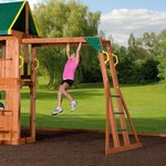 Backyard Discovery™ Prairie Ridge Wooden Swing Set - view number 5