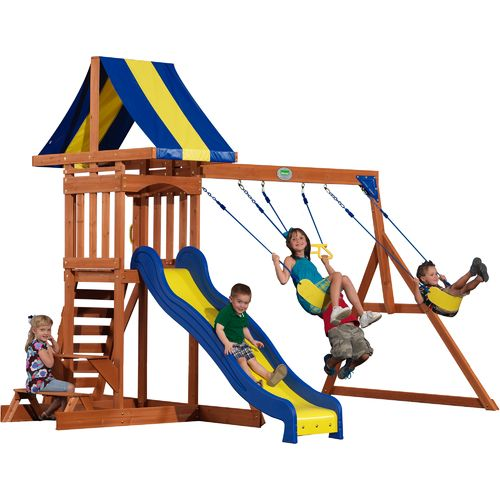Backyard Discovery™ Providence Wooden Swing Set