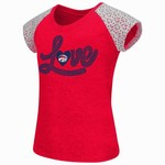 Colosseum Athletics Girls' University of Houston All About That Lace T-shirt